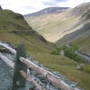 Coast to Coast - Day 2 - the view down the western side of Honister Pass