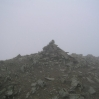 Coast to Coast - Day 4 - the cairn at the top of Helvellyn