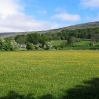 Coast to Coast - Day 10 - meadow near the river Swale
