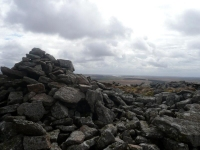 The view south from Bodmin Moor