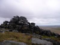 Stacks of rocks on Bodmin Moor