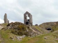 Old mine workings near Minions
