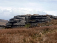 Bodmin Moor, stack of rocks