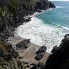 A sandy cove near The Lizard in Cornwall
