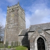 The Church at Churchtown on the edge of Bodmin Moor