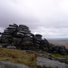 Stacks of rocks on Bodmin Moor