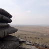 View from Stowes Hill looking over Bodmin Moor