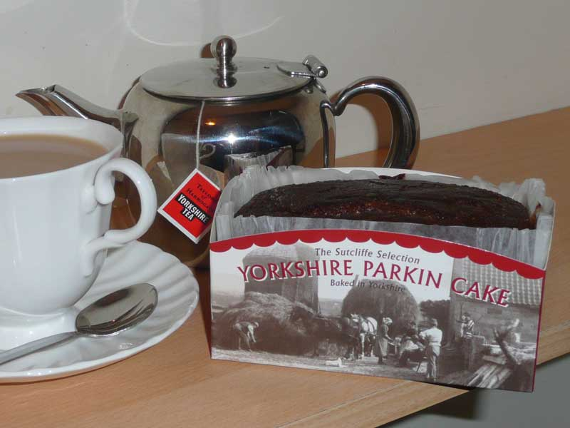 how to make yorkshire parkin cake