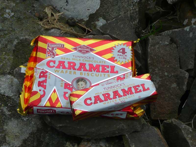 Caramel Wafer Bars Tunnock's Caramel Wafer is a