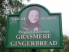 Grasmere Gingerbread sign of Sarah Nelson - the originator of this delicious biscuit