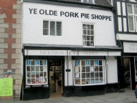 Dickinson & Morris Ye Olde Pork Pie Shoppe in Melton Mowbray