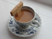 Yorkshire Tea Biscuit, the T shape and good texture makes it a perfect dunker