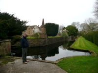The moat at Chantmarle, was that to keep the police in??