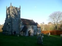 The 13th Century Church at Tollard Royal