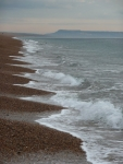 Chesil Beach looking east