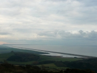 Chesil Beach and The Fleet looking east