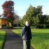 David in the local park