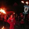 Fletching Bonfire Society was one of the many visiting local societies at the Carnival