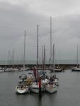 Moored boats at Yarmouth, IoW