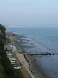 Shanklin from the Appley Steps