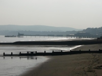 The pier at Sandown, IoW