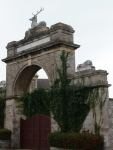 A surprisingly ornate gateway in Ryde