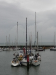 Moored boats at Yarmouth, IoW