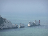 The Needles from Alum Bay