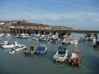 The harbour at Folkestone
