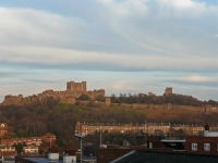 Dover Castle from the Eastern Heights