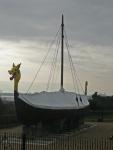 Viking Ship at Pegwell Bay