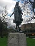 Princess Pocahontas memorial in Gravesend