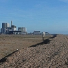The two nuclear power stations at Dungeness
