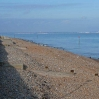 The view across Pegwell Bay to Ramsgate