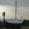 Viking Ship at Pegwell Bay