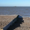 The remains of the Herne Bay pier