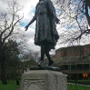 Princess Pocahontas memorial in Gravesend