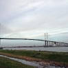 The Dartford Bridge in the background