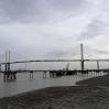 The Dartford Bridge in the background