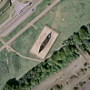 Viking Ship at Pegwell Bay from GoogleEarth