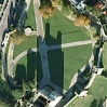 Rochester Castle from GoogleEarth