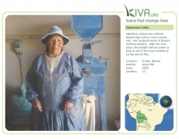 Kiva Calendar 2008 - Valentina Calle (June)