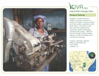Kiva Calendar 2008 - Margaret Nalunga (January 2009)
