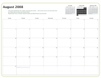 Kiva Calendar 2008 - August