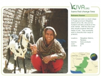 Kiva Calendar 2008 - Ruksana Kausar (September)