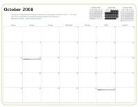 Kiva Calendar 2008 - October