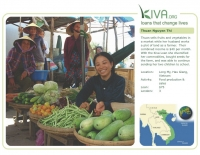Kiva Calendar 2008 - Thuan Nguyen Thi (December)