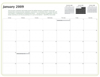 Kiva Calendar 2008 - January 2009