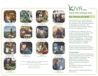 Kiva Calendar 2008 - back cover