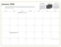Kiva Calendar 2008 - January